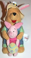 Winnie Pooh Plush With Piglet Easter Egg Disney