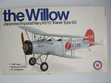 Entex THE WILLOW JAPANESE IMPERIAL NAVY K5Y2 Trainer 1:48 scale Model Plane Kit