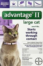 Advantage II for Cats over 9 lbs 6 Month Supply Genuine Bayer USA EPA Approved