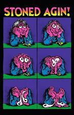 1970s R. CRUMB Stoned Agin poster replica magnet - new!