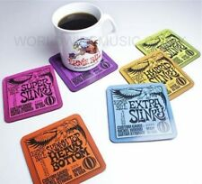Ernie Ball Slinky Guitar Strings Coasters (Set of 6 designs)