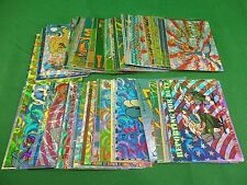 1993 Topps Ren & Stimpy Foil Collector Cards & Stickers