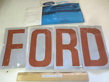 """FORD 1981/85 F-150/350(83)-TRUCK """"LETTER TRANSFER KIT"""" (TAILGATE) FREE SHIPPING"""