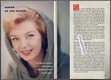 1960 TV ARTICLE~MERRY ANDERS~ACTRESS & MODEL~HOW TO MARRY A MILLIONAIRE