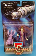 Babylon 5 Ambassador Delenn with Minbari Flyer Action Figure