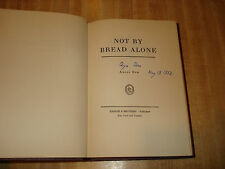 RARE 1942 Signed Vintage book - Not By Bread Alone by Late Bishop Angus Dun