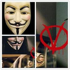 Halloween Cosplay V for Vendetta Mask Guy Fawkes Anonymous Fancy dress costume