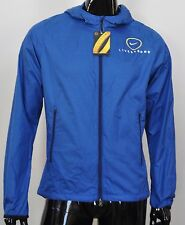 Livestrong Men's Phenom VAPOR RUNNING TRAINING JACKET BLUE SMALL S
