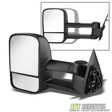 1999-2006 Chevy Silverado GMC Sierra Extendable Towing Manual Driver Side Mirror