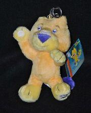 Peluche Doudou Mascotte Chat Lion Jaune Commonwealth Games 2002 Manchester NEUF