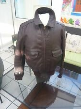 A2 leather jacket Horsehide T40