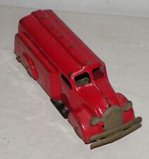 Pressed Steel Antique Gasoline Tanker Toy Wyandotte Toys