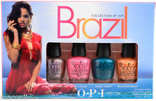 OPI - Brazil Collection Mini Set -  Creme & Duochrome Nail Polish (4 x 3.75ml)