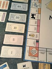 Bet Borgeson / Vintage Lithograph Monopoly Board / Listed Contemporary Artist