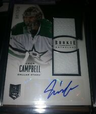 13/14 Rookie Anthology Jack Campbell Dual Jersey Auto Rookie #47/249