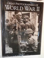 GREAT PHOTOGRAPHERS OF WORLD WAR II Chris Boot Bison Group 1993 inglese libro di