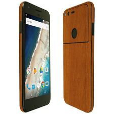 Skinomi Light Wood Skin+Clear Screen Protector for Google Pixel 5""