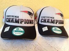 "NEW ENGLAND PATRIOTS 2014 AFC CONFERENCE CHAMPS HAT CAP BRAND NEW ""NEW ERA"" NFL"