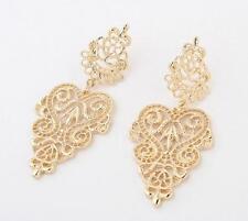 New Chic Women Gold Drop Dangle Beautiful Design Earrings Fashion Jewelry