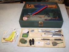 1964 GI JOE WITH ACCESSORIES AND FOOT LOCKER FREE SHIPPING
