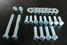 Complete Cross Member Bolt set, Ford Escort MK1 & MK2, Engine, TCA, Steering