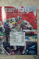 2013  Kentucky Derby 139 PROGRAMS + RESULT TICKET  MINT FROM CASE