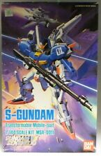 GUNDAM : S-GUNDAM SERIAL NUMBER MSA-0011 1/144 SCALE BAN DAI MODEL KIT