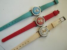 Collection of 3 SNOOPY watches,1958,1952,great working cnd,pre-owned,case 1""