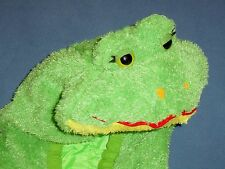 PLUSH GREEN FROG COSTUME KID LARGE-7-10;TOAD;PRINCE;AMPHIBIAN;SCHOOL;School Play