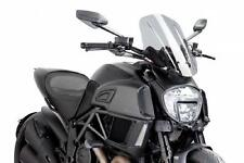 PUIG Naked Touring Windscreen - Clear 7570W DUCATI Diavel Diavel Carbon etc