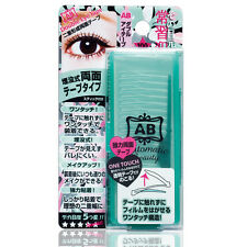 [AB AUTOMATIC BEAUTY] Japan Strong Hold Clear Double Eyelid Tape 100pcs NEW