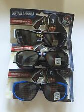 Boys Girls CAPTAIN AMERICA Avengers UV Sunglasses Children Kid Marvel 3 Pairs!!!