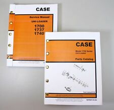 SET CASE 1700 1737 1740 UNI-LOADER SKIDSTEER SERVICE REPAIR SHOP PARTS MANUAL