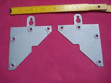 2 paires attache suspension crochet meubles (réf J ) objets lourds