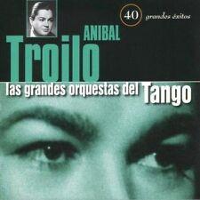 LAS GRANDES ORQUESTAS DEL TANGO ORQUESTA ANIBAL TROILO - 2 CDS