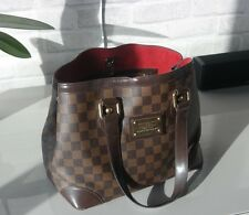 Authentic Louis Vuitton damier canvas Hampstead PM tote bag