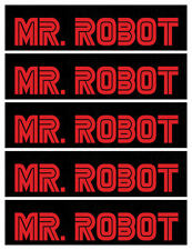 Cartel – Mr. robot show de TV temporada 1/2 (Hacking anónimos Dvd Blu-ray de imagen)