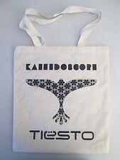 DJ Tiesto-Caleidoscopio PROMO CANVAS TOTE BAG-Nuovo (Clubwear LOGO) NO CD / LP