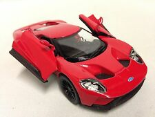 "2017 Ford  GT, 5"" Diecast Metal 1:38 Scale ,Pull Back Action,Toys Boys Girls,Red"