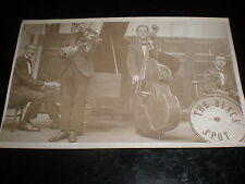 Old postcard the Black Spot Band c1920s