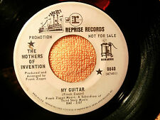 MOTHERS OF INVENTION~MEGA RARE~MY GUITAR~PROMO~DOG BREATH~REPRISE~~ PSYCH 45