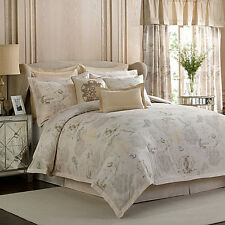 Vintage Floral : Bed Bath & Beyond : EURO Sham : Beige : 100% Cotton : NEW