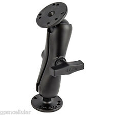 """RAM-101u/202/201 1.5""""Double Socket Arm Extension with 2ea. 2.5""""Bases 1 1/2""""Balls"""