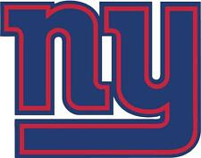 NY Giants New York NFL Football Team Logo 2 Color DECAL Car Window Sticker