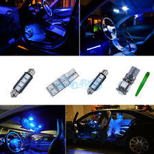 Interior Car LED Light KIT Package Xenon Blue For MERCEDES C CLASS (W203) *P