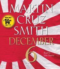December 6: A Novel - New - Smith, Martin Cruz - Audio CD