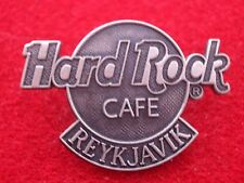 HRC HARD ROCK CAFE Reykjavik Logo SMALL Sterling Silver le125 made by FC Parry