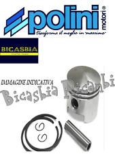 6392 - PISTONE POLINI PER CILINDRO DM 43,4 PIAGGIO 50 CIAO BRAVO SI BOXER GRILLO
