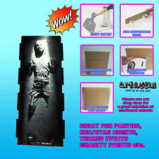 HAN SOLO CARBONITE LIFESIZE CARDBOARD CUTOUT STANDUP STANDEE