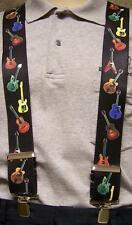 """Suspenders 2""""x48"""" FULLY Elastic Musical Instruments Guitars Montage NEW"""